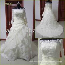 2010 neue Ankunfts-elegante tatsächliche Brauthochzeit gonw JJ2099