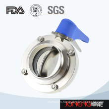 Stainless Steel Manual Welded Sanitary Butterfly Valve (JN-BV1001)
