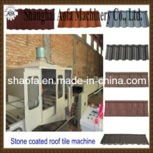 Stone Coated Colorful Galzed Tile Machine (AF)