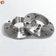 Flange forjada Titanium de Ansi B16.5 Gr2 150 # Dn25 Wnrf / flange Titanium da tubulação