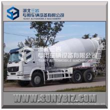 Sinotruck HOWO 5m3 6m3 4 * 2 Zement-Mischer-LKW