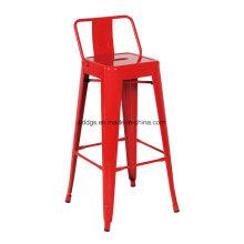 Eisen Stuhl Metall Bar-Stuhl mit Armlehne