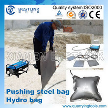 Hydro/Steel Pushing Bag for Quarry Marble Stone