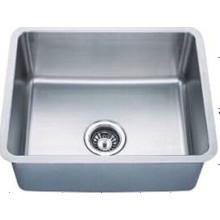 Stainless Steel Single Bowl Handmade Wash Sinks Kus2117-N