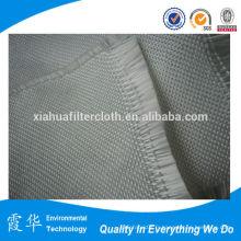 Tissu en fibre de verre imprégné de silicone revêtu