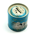 Round Save Money Coin Tin Box Metal