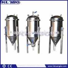 Sistema de fermentación de cervecería hecha de tanques de fermentación de acero inoxidable para la venta