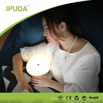 2016 nueva lámpara recargable superior de fábrica para la lectura del estudio llevó la luz