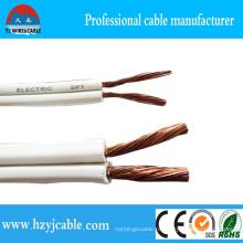 Белый черный параллельный кабель 300V Spt Гибкий электрический силовой кабель