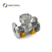JKTLPC053 industrial inline stainless steel non return flap check valve
