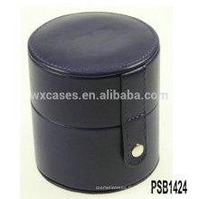 boîte de montre unique en cuir en gros