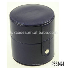 caixa único relógio de couro por atacado