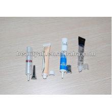Diâmetro tubo cosmético PE de 16mm com tampa roscada