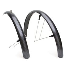 Carbon fiber bike mudguard