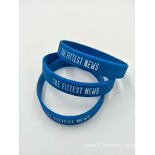Bracelets de promotion en silicone