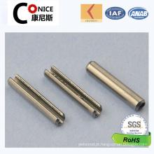 China Fábrica Custom Made Não-Padrão Knurled Pin