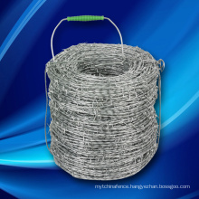 Hot Dipped Galvanized Electro Steel Iron Barbed Wire