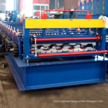Xinnuo Corrugated Iron Sheet Making Machine In Car