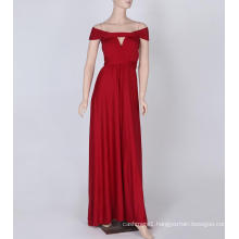 Was Thin And No Ribs Ribbons Long Color Bridesmaid Dress