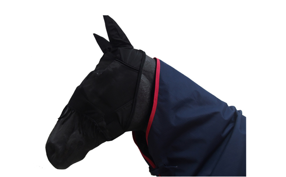 mesh horse fly mask