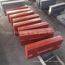 Barre de soufflage pour pièces de rechange de concasseur à percussion Hazemag Apk 405060
