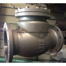 Valve de retenue pivotante RF Wcb RF de 150 lb / 300 lb