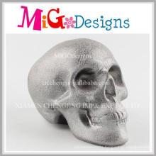 Attractive Ceramic Skull Artware Crafts Personalized Piggy Banks