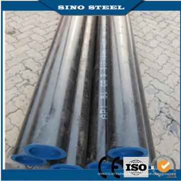 Tubo de acero sin costura de acero al carbono API 5L de petróleo y gas