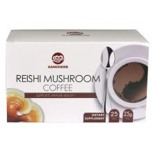 Black Ganoderma Reishi Mushroom Lingzhi Instant Coffee