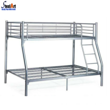 Modern design home metal adult triple bunk bed