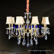 Modern Crystal Shape Chandelier Pendant Lamp for Hotel