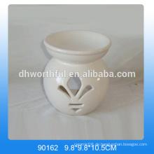 Einfache Design Weiß Öl Brenner Keramik in hoher Qualität