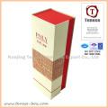 Caixa de presente de embalagem rígida personalizada com estampagem de folha