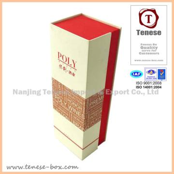 Kundenspezifische starre Verpackung Geschenkbox mit Folienprägung