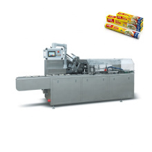High Speed Automatic Horizontal Box Cartoning Machine For Preservative Film