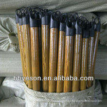 Cubierta de pvc mango de escoba de madera 2.2 * 120cm