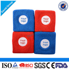 Benutzerdefinierte Werbe-Stickerei Handgelenk Schweißbänder