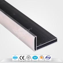 Oxidationselektrophorese Aluminiumfenster und Türenprofil