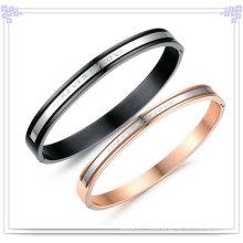 Brazalete de accesorios de moda de joyería de acero inoxidable (BR201)