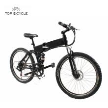Cómodo nuevo modelo plegable de bicicleta eléctrica de montaña plegable de Shanghai