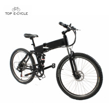 Comfortable riding cheap new model foldable Shanghai electric mountain bike