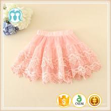 filles en vente jupes dentelle garnitures bébé vente chaude jupes bonne qualité rose noir menthe jaune jupes courtes belle enfants