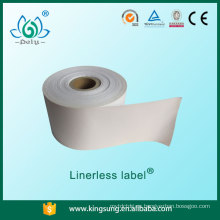 etiquetas sin papel, etiquetas de papel sin base