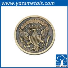 Monnaie ancienne commémorative en émail sur mesure