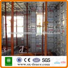 Sistema modular de encofrado de aluminio