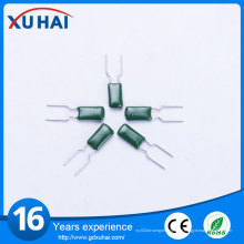 Gute Qualität Hochspannung Grün Polyester Film Kondensator