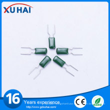 Good Quality High Voltage Green Polyester Film Capacitor