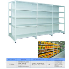 Heavy Duty Double Side Gondola Supermarket Display Shelf