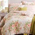 Ensemble de literie 100 % coton/Polyester Floral Chambre Maison