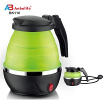 disposable water bottles portable hot water kettle food grade foldable silicone kettle sports water kettle